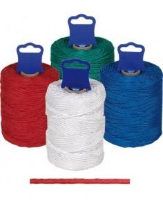 Bobina hilo pp trenzado 8842-200mt azul de rombull ronets