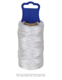 Bobina hilo tiralineas polipropileno 1110/200mt blanca de