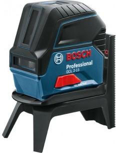 Nivel laser gcl 2-15 autonivelante + rm1 de bosch construccion