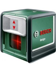 Nivel laser quigo autonivelante + soporte + pilas de bosch