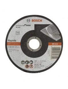 Disco abrasivo 125x1,0x22,23mm corte inoxidable de bosch