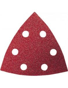 Lija triangular f460 6 perforaciones con velcro 93mm g120 bl5