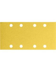 Lija rectangular 8 perforaciones con velcro 93x186 g080 bl50 de