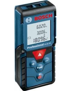 Medidor laser glm-40 profesional de bosch construccion /
