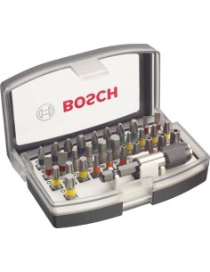 Set profesional atornillar 32pz de bosch construccion /