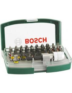 Set atornillar 32pz con puntas seguridad de bosch bricolaje