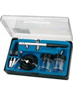 Aerografo profesional junior 140 25410104 con maleta de sagola