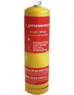 Botella gas mapp 35698 de rothenberger