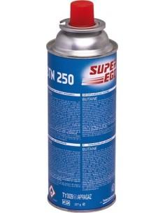 Cartucho gas cocina y barbacoa seh003800 de super ego caja de 4