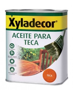 Xyladecor aceite teca 678000176 750ml incoloro de xyladecor