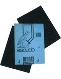 Lija hierro 2,5/050 - escudo 230x280mm de flexovit caja de 50