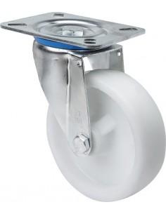 Rueda 2/0235 s.zv ø 80 poliamix blanco de alex