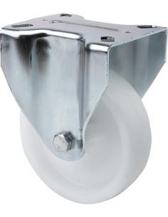 Rueda 2/0240 s.zv ø 125 poliamix blanco de alex