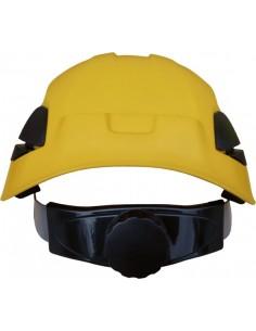 Casco climber con rosca 1000v 80662 amarillo de safetop