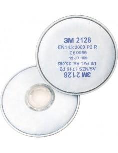 Filtro 2128 p2r para mascara 6200/6800 de 3m caja de 20 unidades