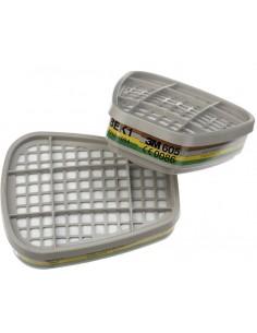 Filtro 6059 abek1 para mascara 6200/6800 de 3m caja de 8