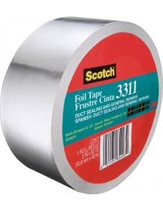 Cinta aluminio scotch 331150 45mx50mm de 3m