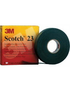 Cinta autosoldable scotch 23 9,15mx19mm de 3m