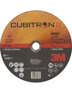 Disco corte cubitron a/i65512 125x1,0x22 de 3m caja de 25