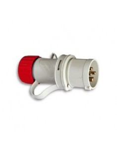 Clavija cetac 1100056 3p + n + t 380v/16a ro de asein
