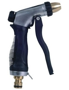 Pistola aluminio regulable racor metal 9801432 de aqua