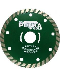 Disco diamante nt-6 115 turbo construcción de penta