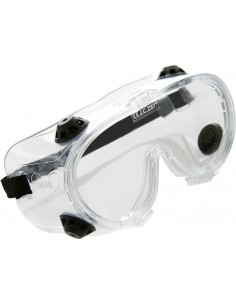 Gafa integral pvc transparente con ventilacion 10420 de safetop