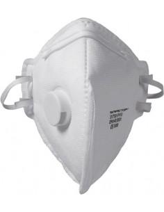 Mascarilla 31700 celulosa ffp3 con valvula de safetop caja de