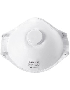 Mascarilla 30300 celulosa ffp2 3cap + valvula de safetop caja