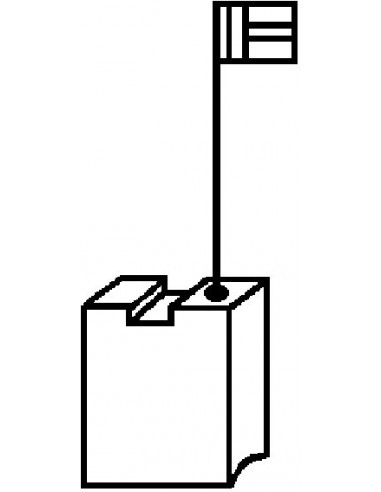 Escobillas 2pz 1999.03 dewalt de asein caja de 10 unidades