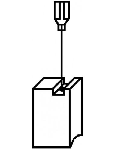 Escobillas 2pz 1114 bosch de asein caja de 10 unidades