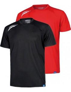 Camiseta manga corta s6611 rojo t-xxl de workteam