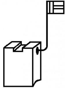 Escobillas 2pz 0220 b&d/dewalt de asein caja de 10 unidades