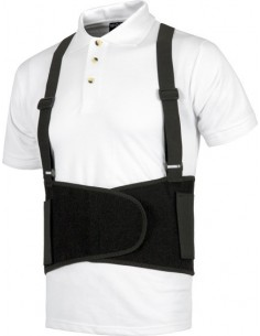 Faja guardaespaldas con tirantes wfa302 t-m de workteam