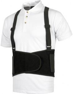Faja guardaespaldas con tirantes wfa302 t-s de workteam