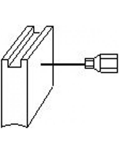 Escobillas 2pz 1824 metabo de asein caja de 10 unidades