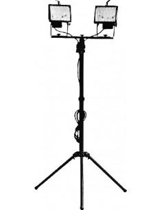 Proyector halógeno con trípode 2x400w 1174913 con lampara de