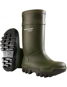 Bota purofort thermo + s5c662933 t-44/45 verde de dunlop