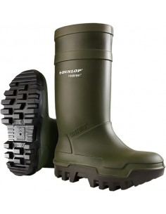 Bota purofort thermo + s5c662933 t-37/38 verde de dunlop