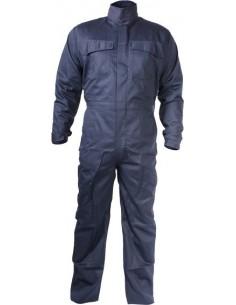 Buzo ignifugo welder wlr400 t-s azul de 3l
