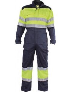 Buzo ignifugo welder hv wlh400 t-l azul de 3l