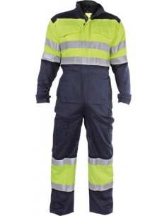 Buzo ignifugo welder hv wlh400 t-s azul de 3l