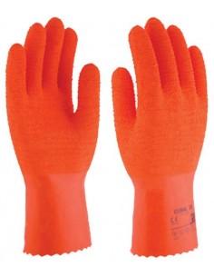Guante latex natural algodón coral30 sl430 t09 de 3l caja de 12