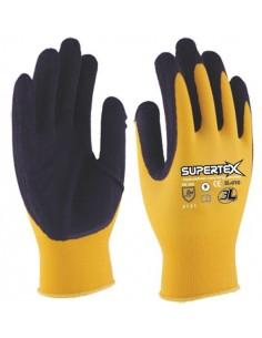 Guante latex nylon supertex sl010 t08 de 3l caja de 12 unidades