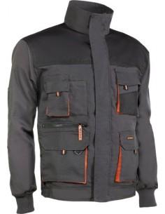 Cazadora top range 960 t-xxl negro/naranja de juba