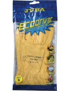 Guante flor vacuno b406vr2ª t-10 amarillo de juba caja de 12
