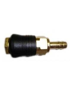 Enchufe tri-sys rapido presion aire 06mm de mato caja de 12