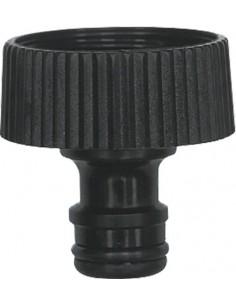 """Adaptador grifo con rosca 1""""-25mm 9801383 gr de aqua caja de 50"""