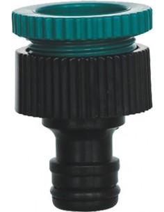 "Adaptador grifo con rosca 5/8""-3/4"" 9801385 gr de aqua caja de"