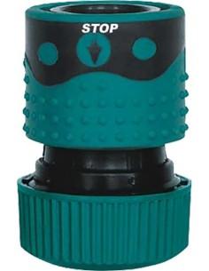 """Empalme automatico aquastop 1/2""""-5/8"""" 9803945 gr de aqua caja"""